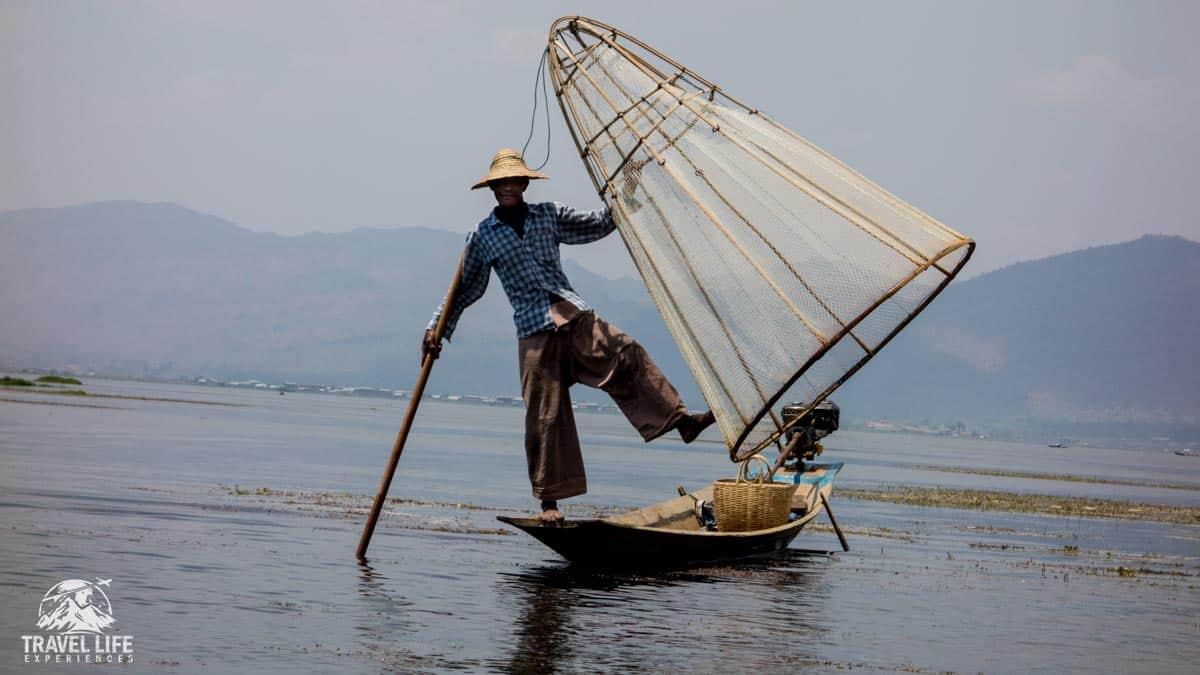 Inlaw Lake Fisherman