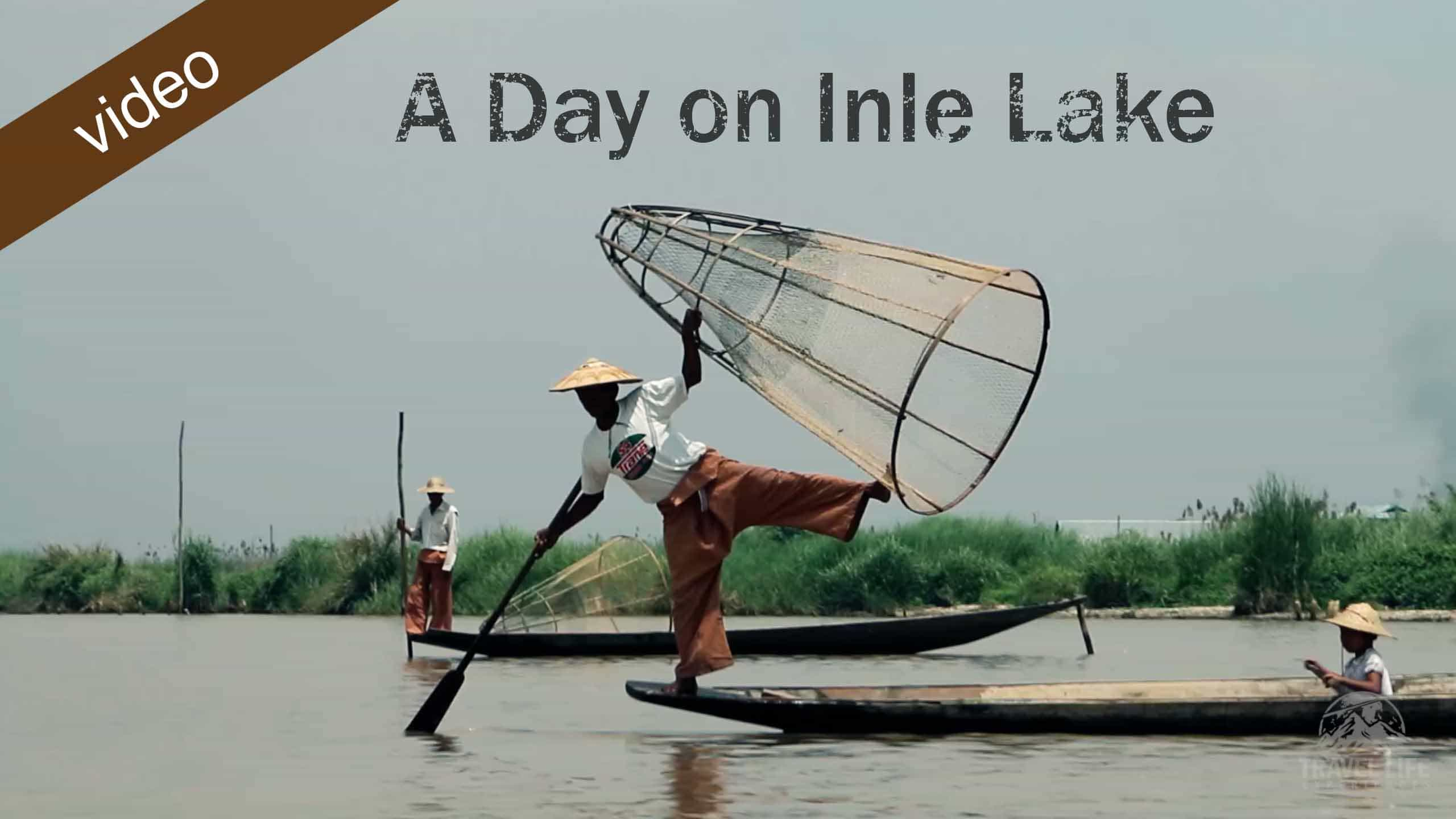 A Day On Inle Lake, Myanmar
