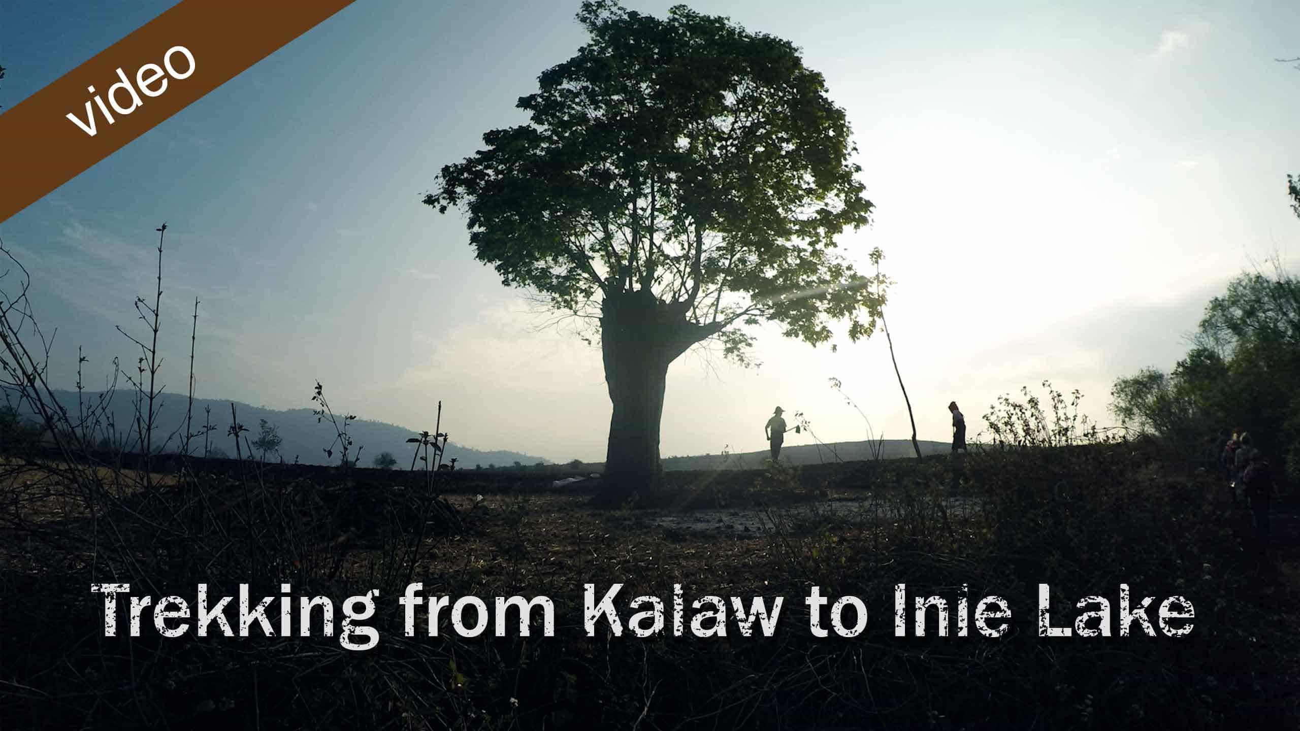 Trekking From Kalaw To Inle Lake, Myanmar