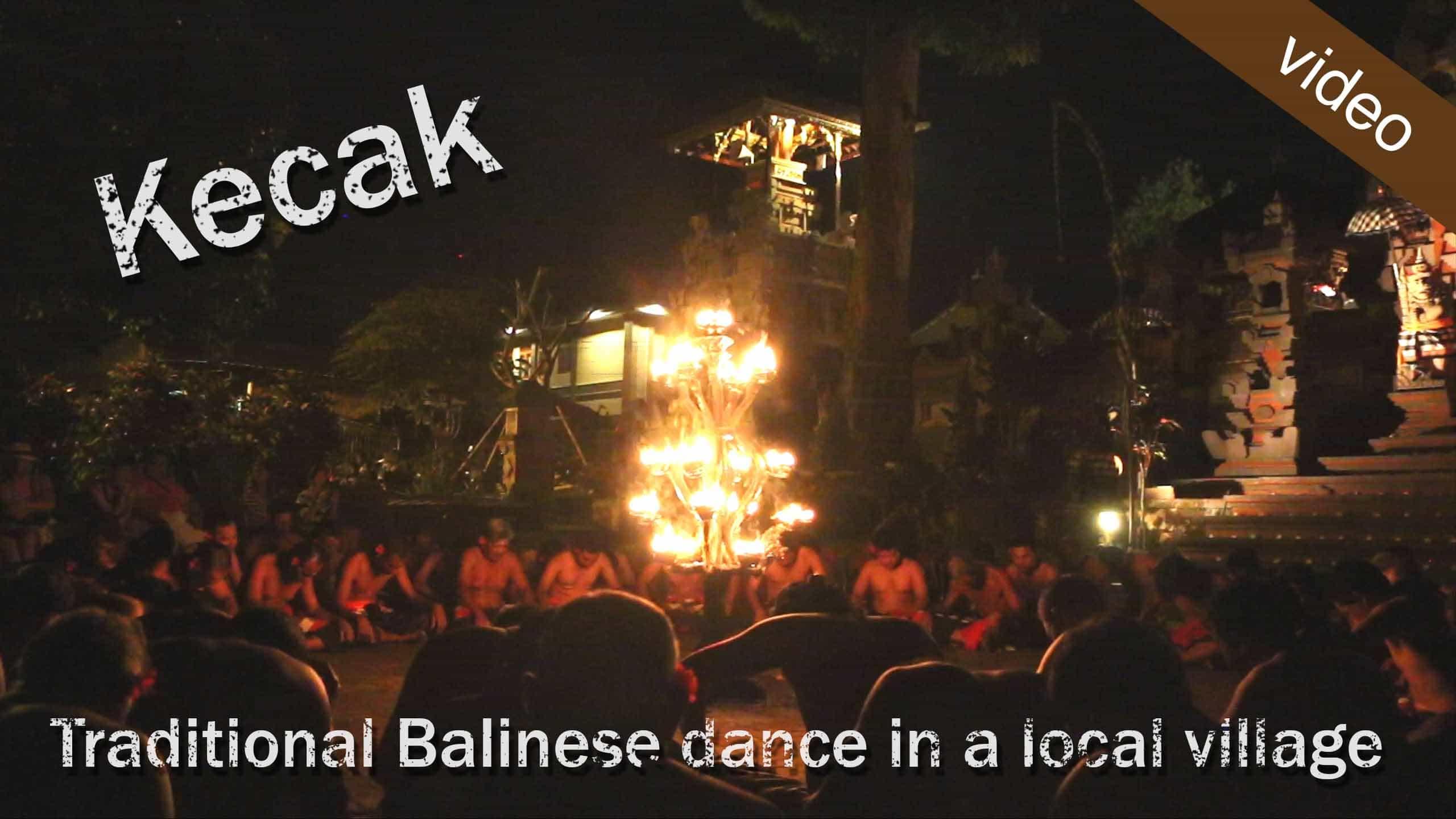 A Balinese Kecak Dance – Local Style