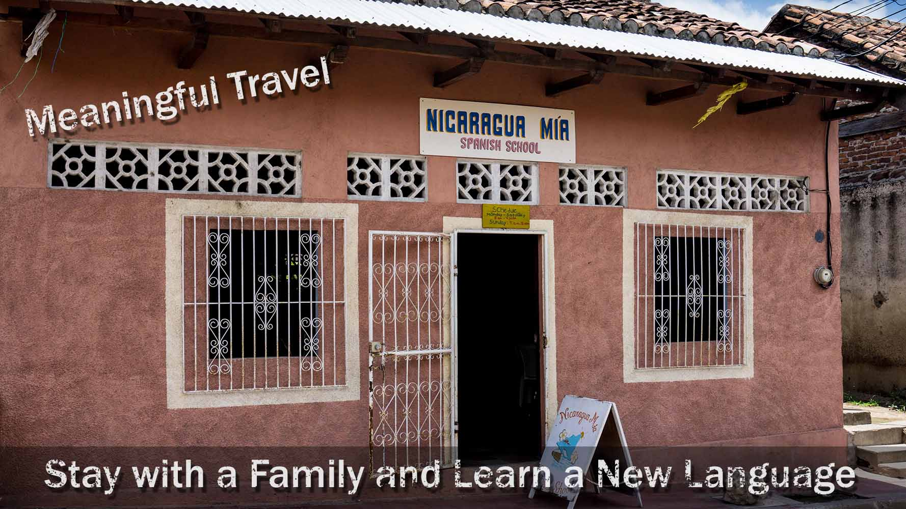 Meaningful Travel – Stay With A Family And Learn A New Language