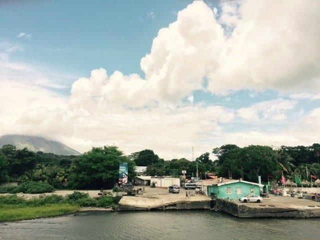 Ometepe Island San Jorge Port