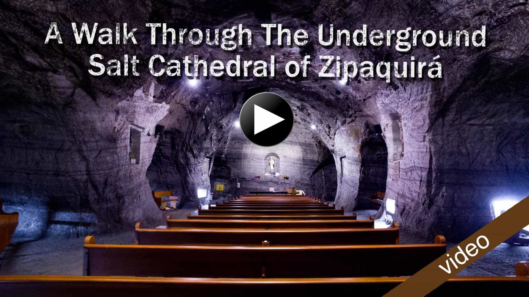 2 weeks in Colombia - itinerary for the salt cathedral of Zipaquira