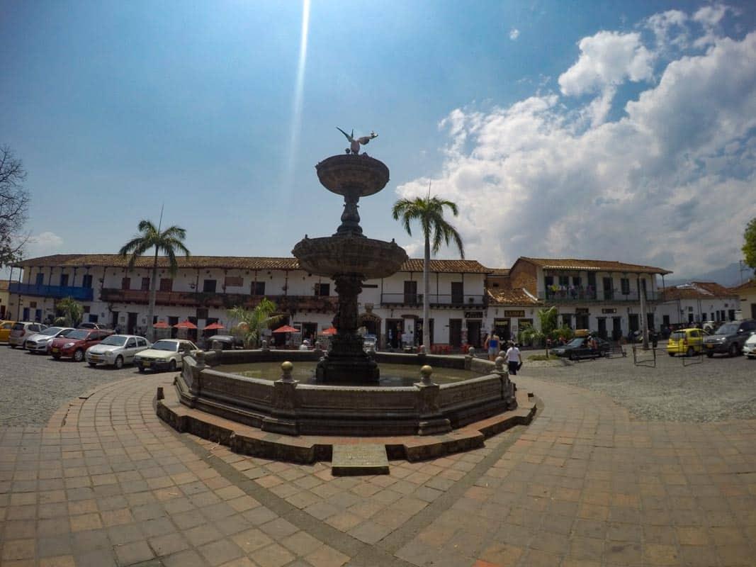 Plaza Mayor, Santa Fe de Antioquia
