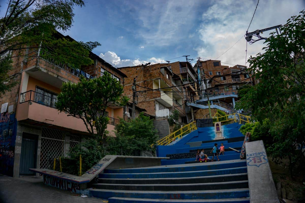 Park in Comuna 13