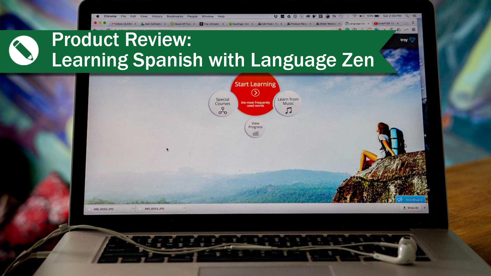 Product review learning spanish with language zen travel life product review learning spanish fandeluxe Image collections