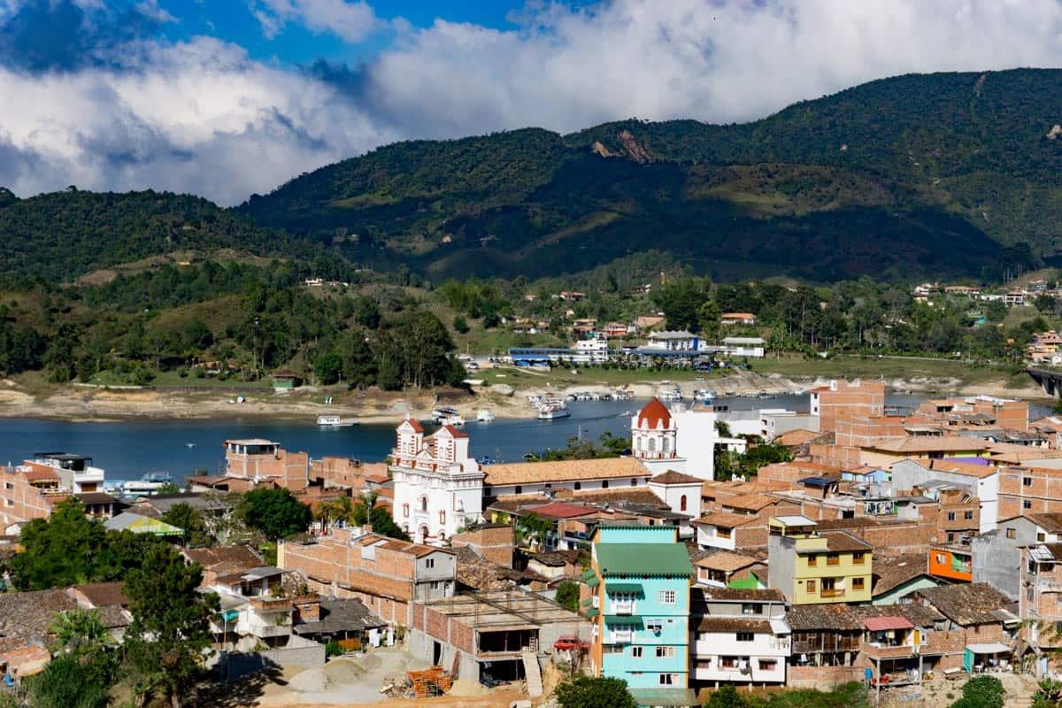 Guatapé town