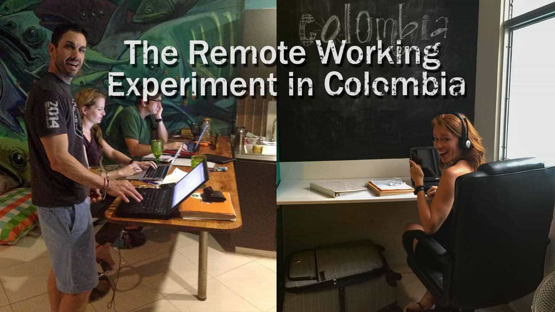 Remote Working In Colombia