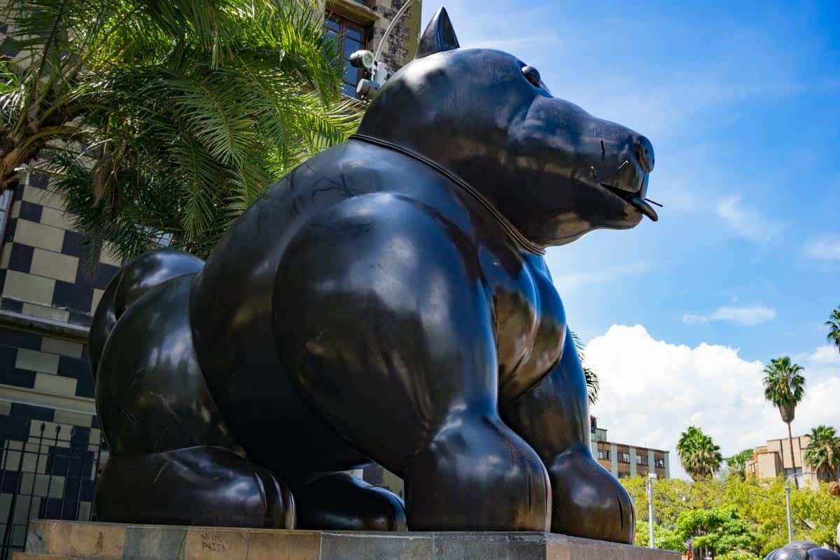 The botero statue -some of the best things to see in 2 weeks in Colombia