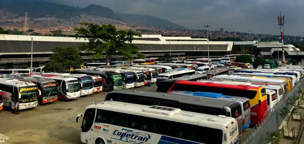 bus service in Medellin - the best way to spend 2 weeks in Colombia