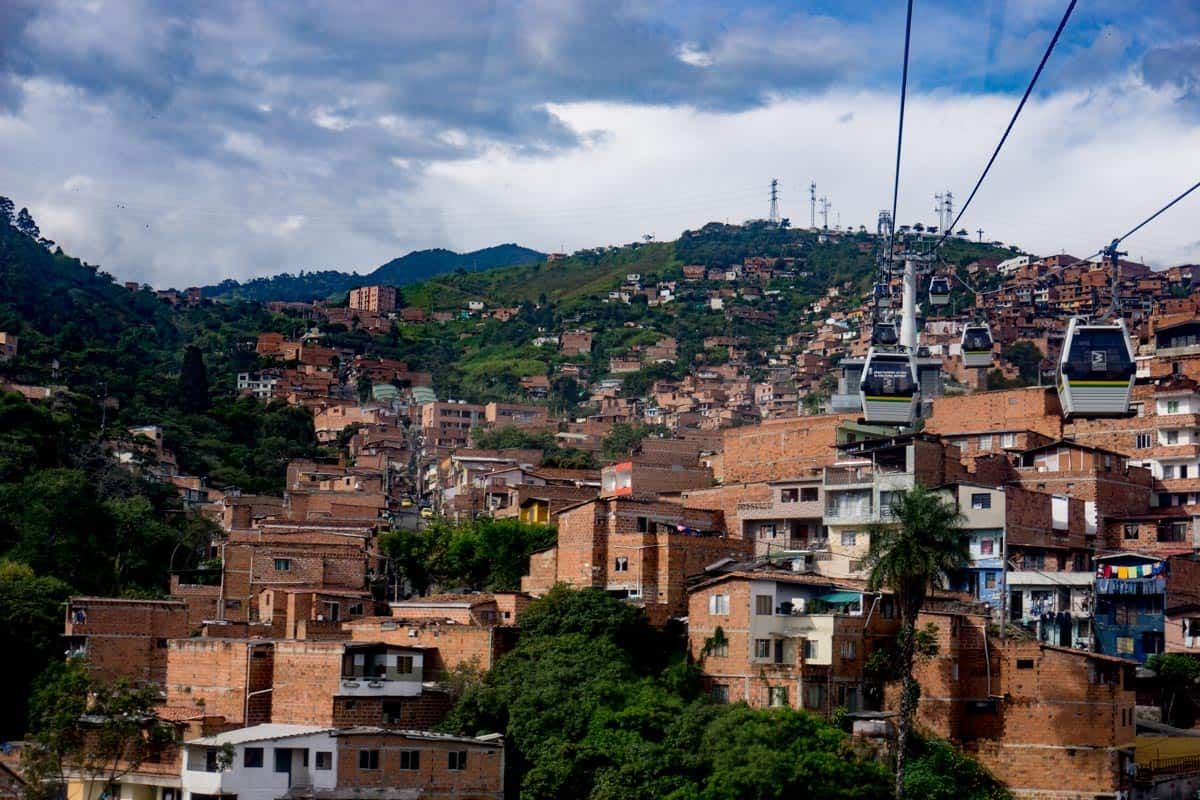 The city of Medellin- best place to visit for 2 weeks in Colombia