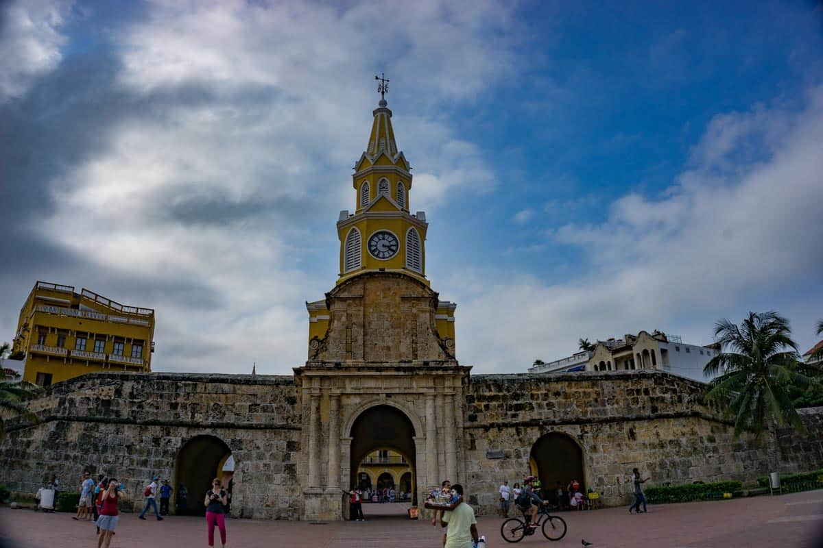 2 weeks in Colombia visit the walled city of Cartagena