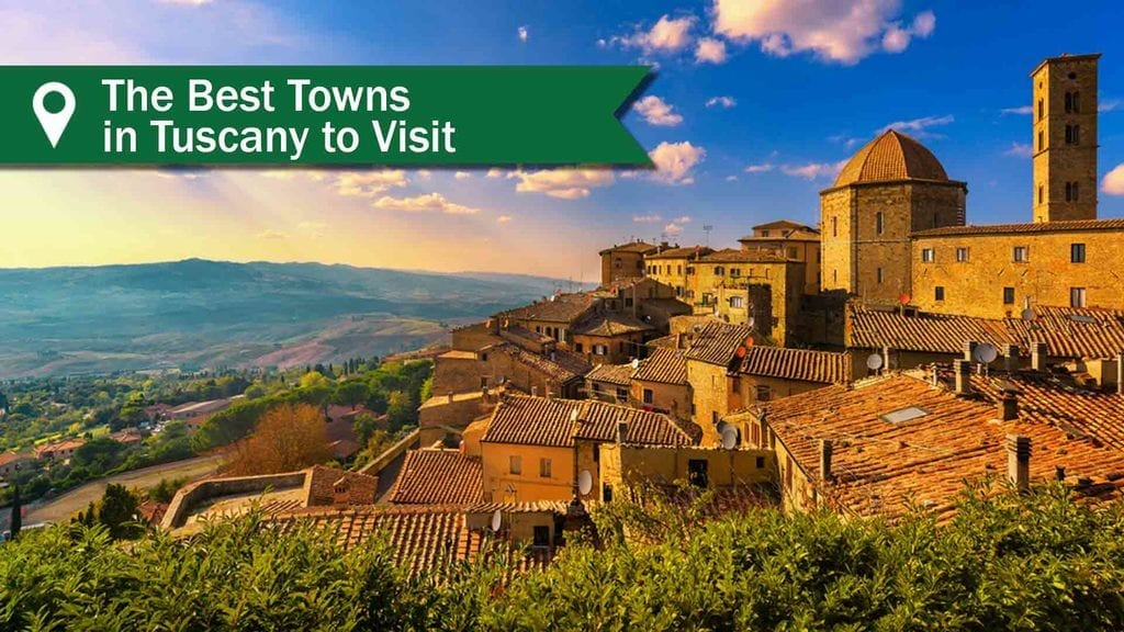 View of Volterra- one of the best towns in Tuscany
