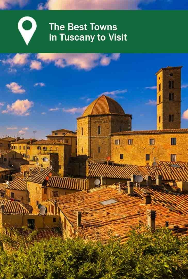 Best towns in Tuscany, picture of the town of Voleterra