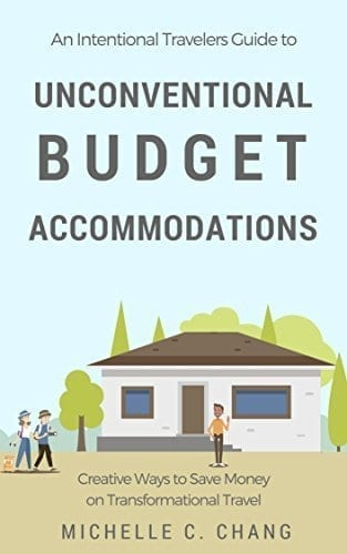 Unique stays- the book cover to help you with finding unconventional budget accommodations