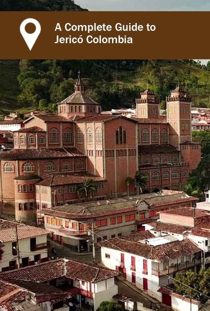 Jerico Colombia a picture of the main cathedral