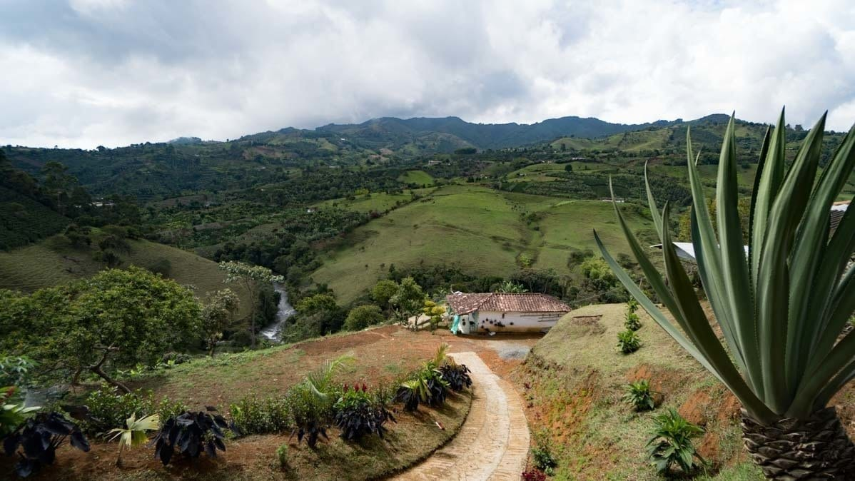 Views along the Rio Piedra in Jerico Colombia