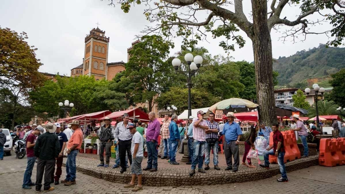 the townspeople of Jerico Colombia