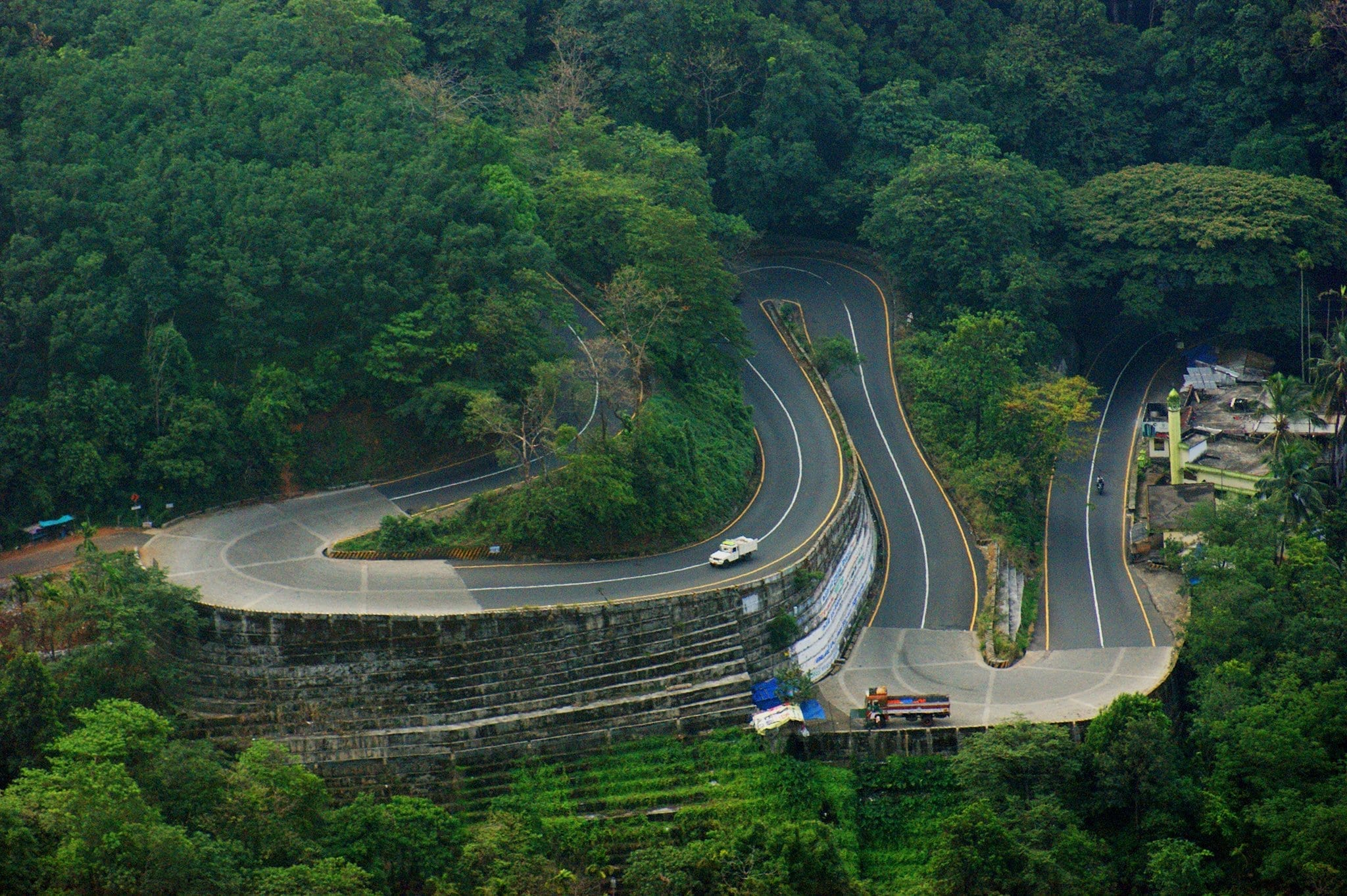 The interesting roads in Wayanad, Kerala