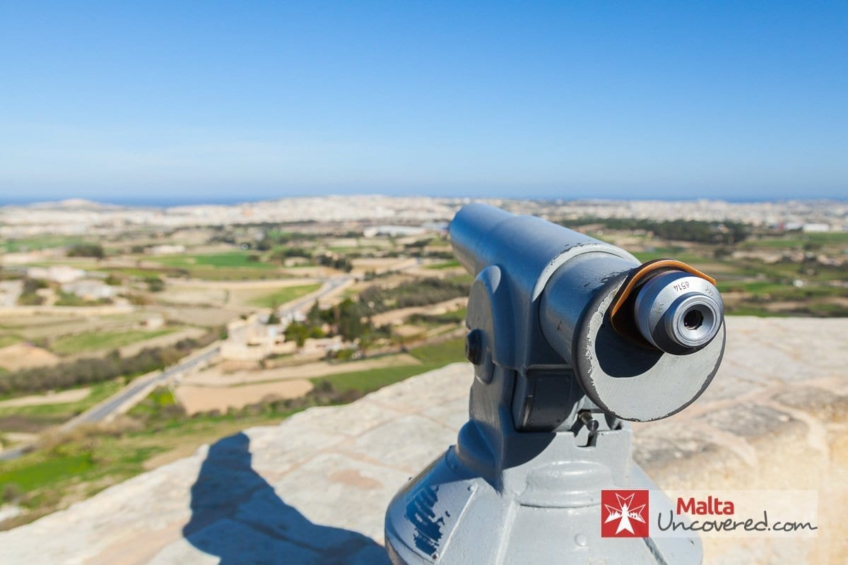 another beautiful view of malta from Mdina city wall