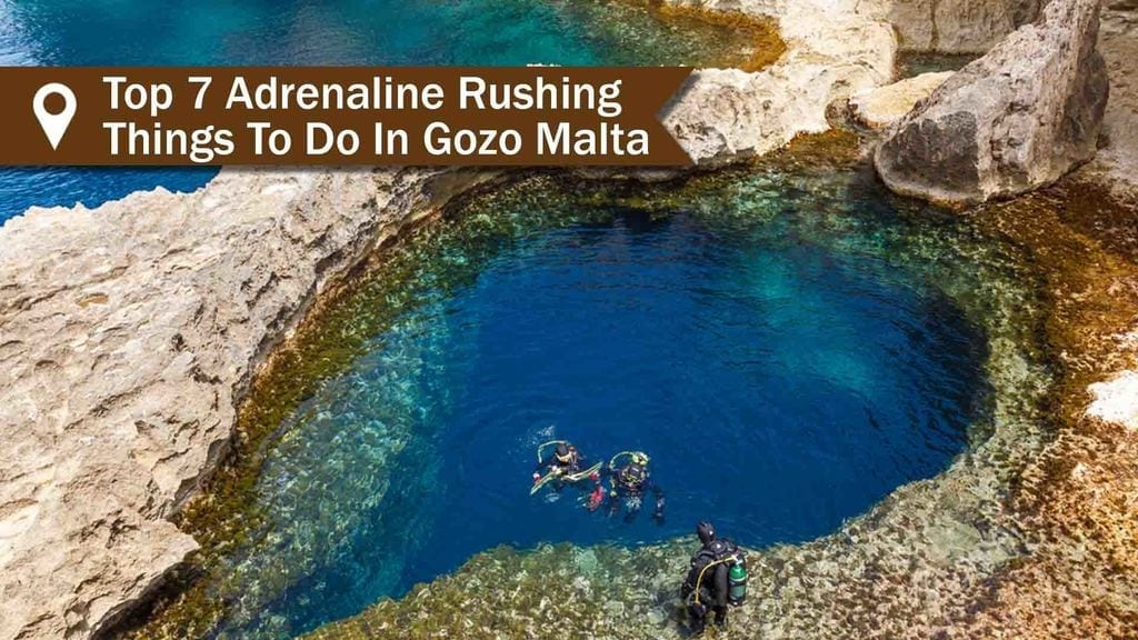 Diving in Malta - Beautiful underwater caves - one of the best things to do in Gozo