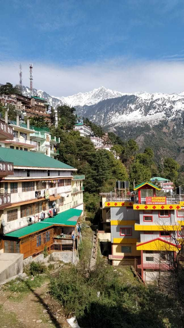 thank you India views of Mcleod Ganj