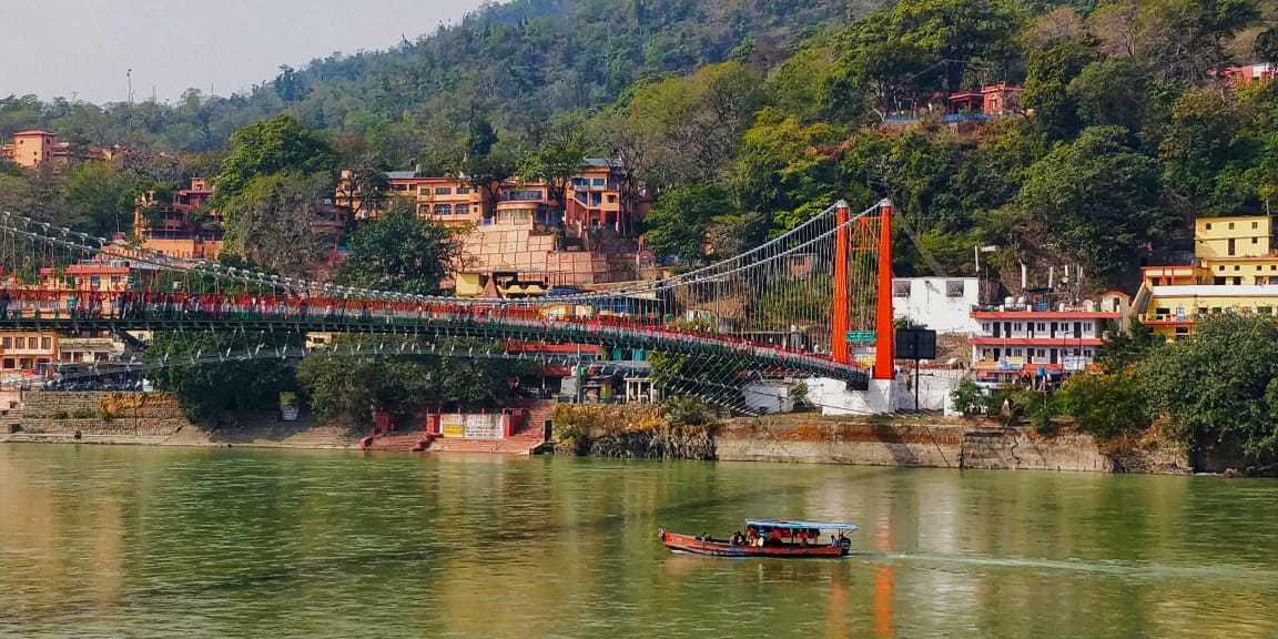 Thank you India - views of Rishikesh