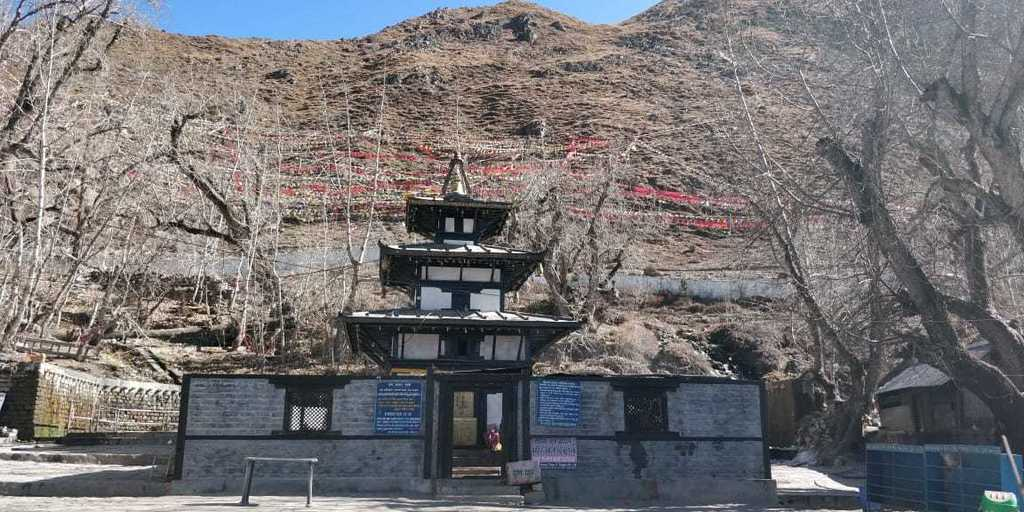 About Nepal - Hindu temple in Muktinath