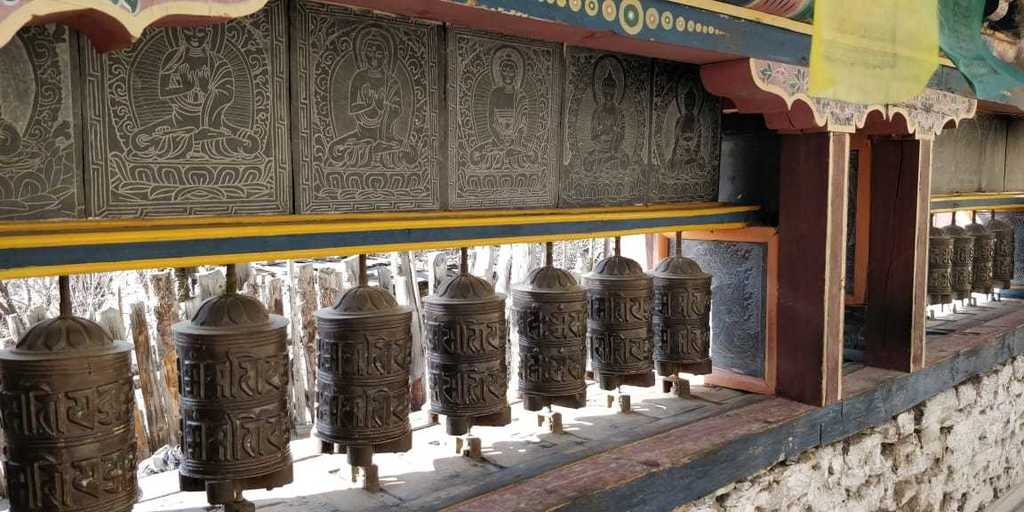 About Nepal - Tibetan Prayer Wheels