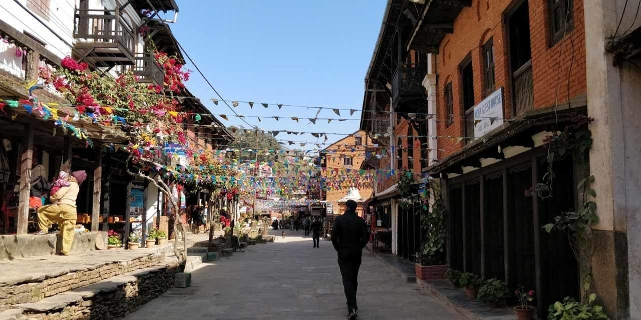 the bandipur bazaar main square