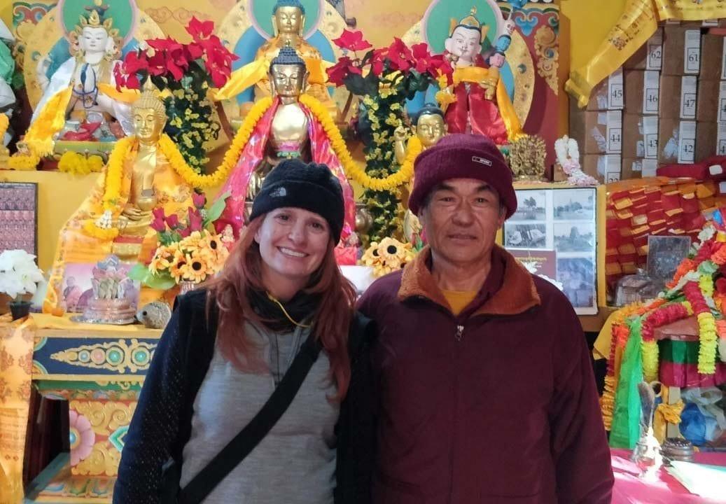 Visit to the Boudha Sadan Shakyamuni Monastery