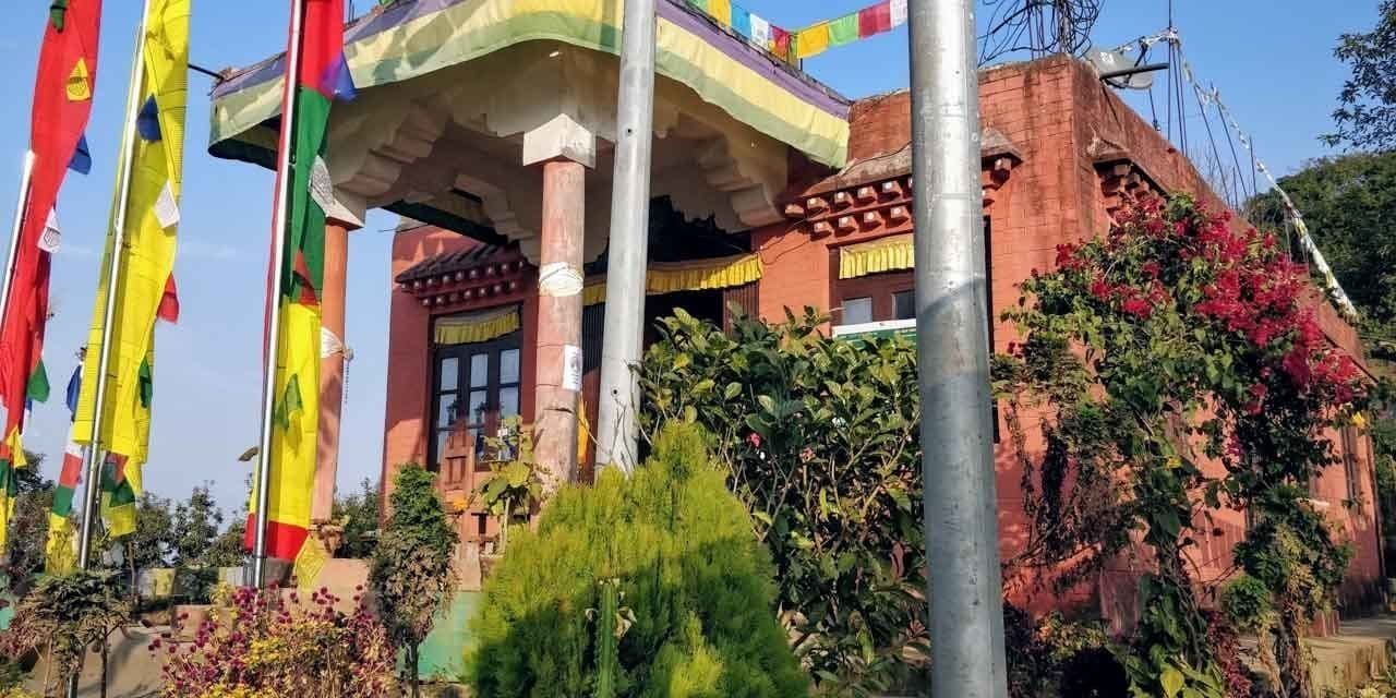 the Monestary in Bandipur Nepal