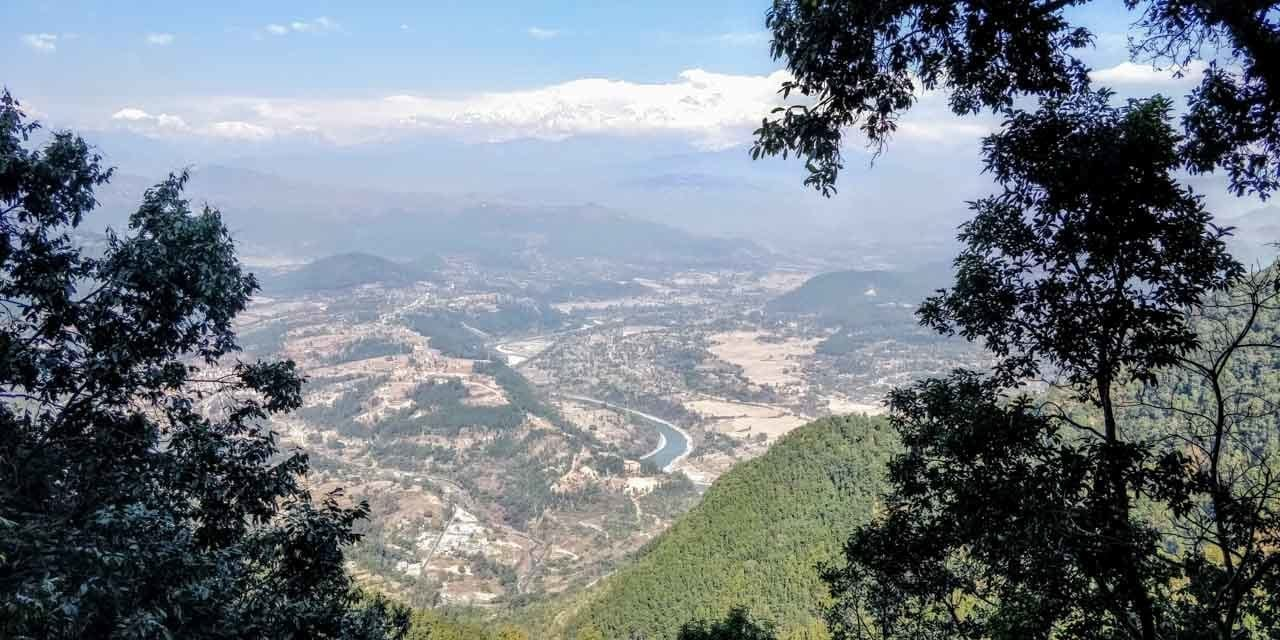 Nonstop views of Bandipur Nepal