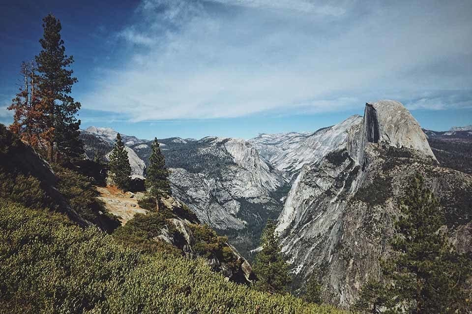 Picture taken during one hike in Half Dome.