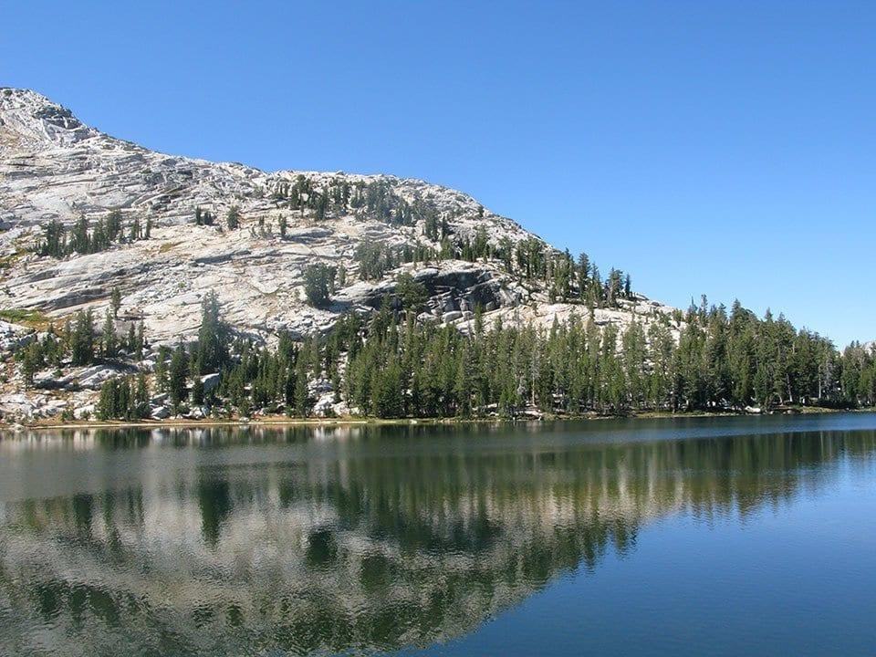 Picture of Catedral Lakes, Yosemite.