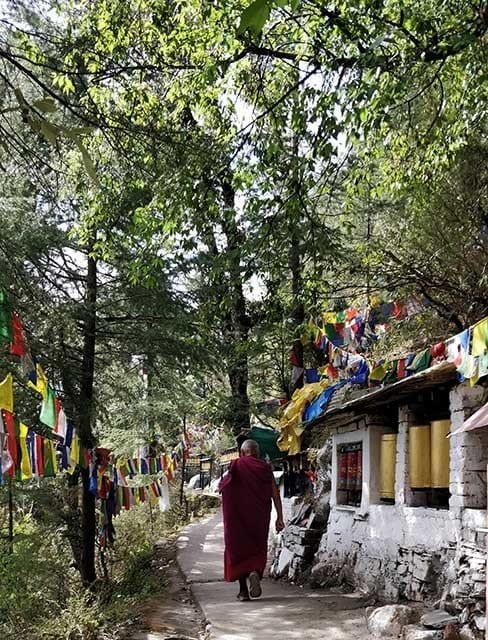 The Dalai lama temple in Mcleod ganj one of the top places to see in India
