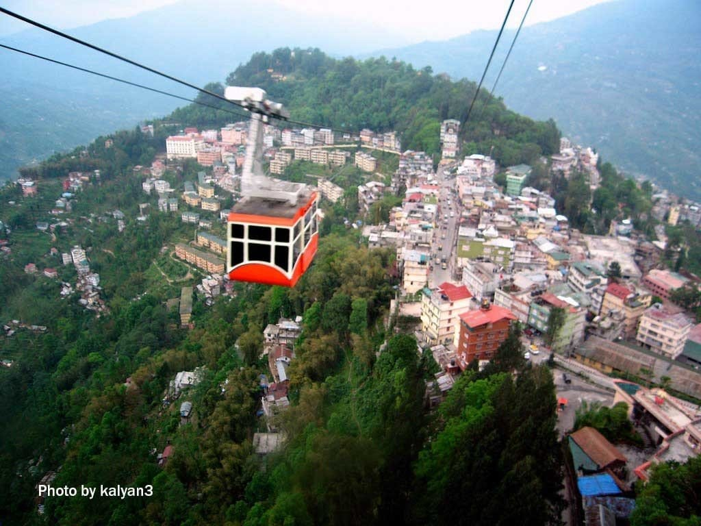 Picture of Gangtok Sikkim, one of the best holiday destinations in India