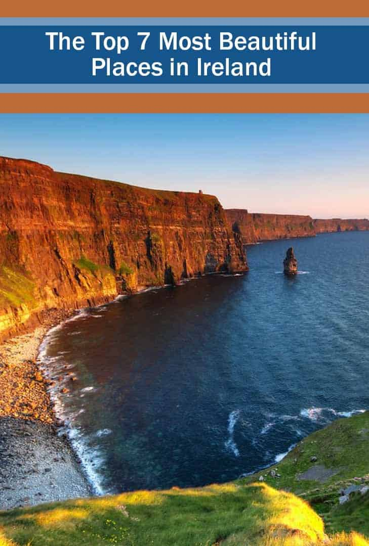 the cliffs of moher, one of the top 7 most beautiful places in Ireland