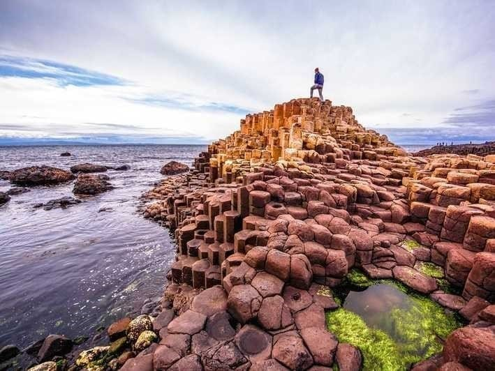 The giants causeway, one of the must-see places in Ireland