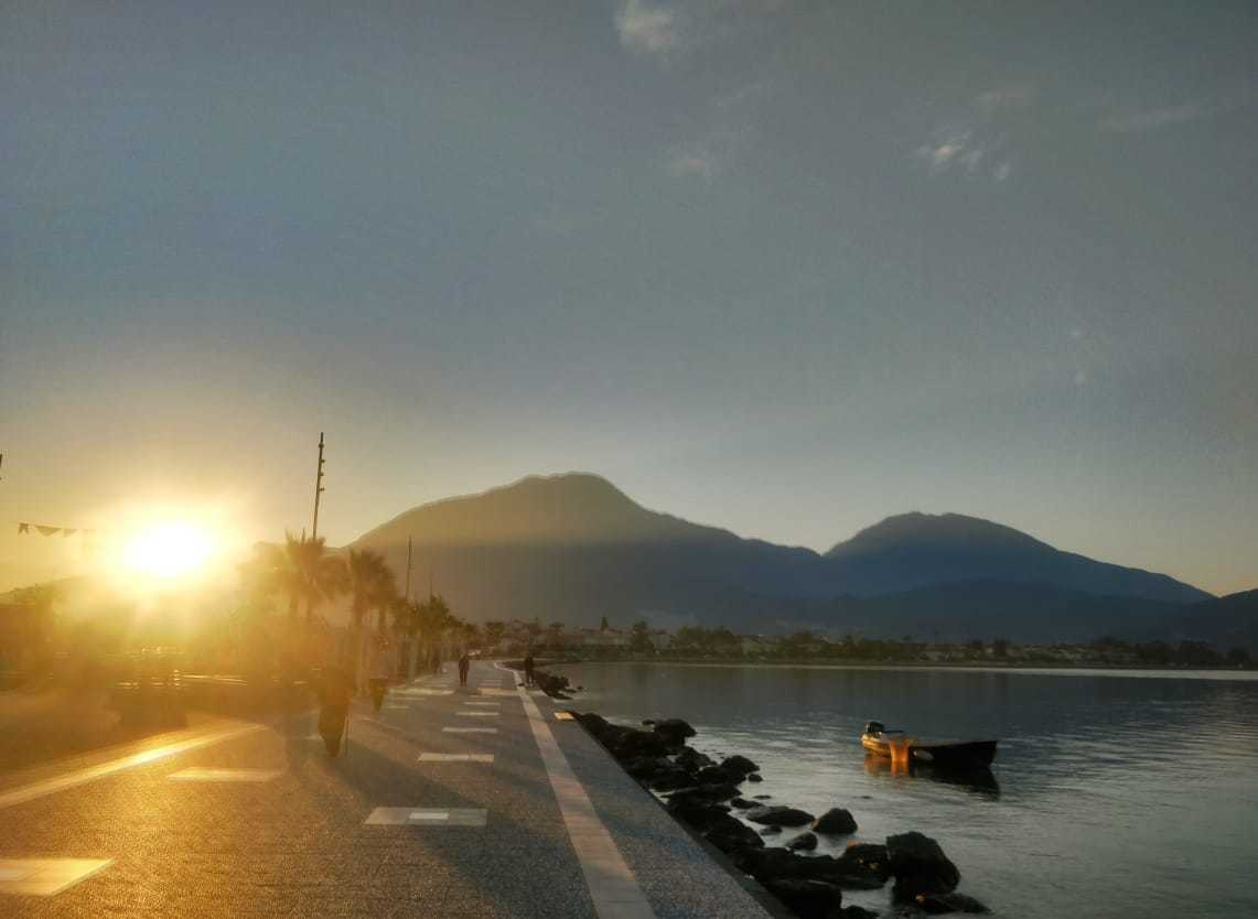 the boardwalk in fethiye turkey