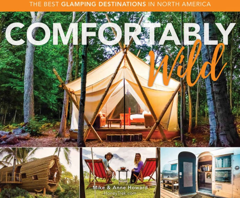 main image of glamping book